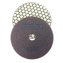 Dry Granite Diamond Polishing Pad 5000 Grit, Honeycomb Dry, Part # VZDP45000