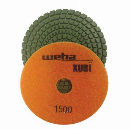 "Part#  VZP41500 Weha 4"" Xubi Polishing Pad - 1500 Grit"