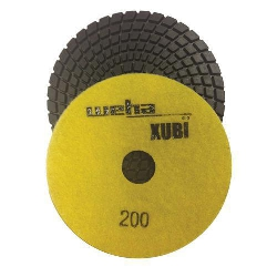 "Part#  VZP4200 Weha 4"" Xubi Polishing Pad - 200 Grit"