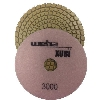 "Part # VZP43000 Weha 4"" Xubi Diamond Polishing Pad - 3000 Grit"