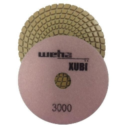 "Part # VZP53000 Weha 5"" Xubi Polishing Pad - 3000 Grit"