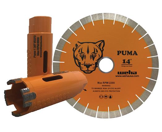 Puma Blades & Core Bits